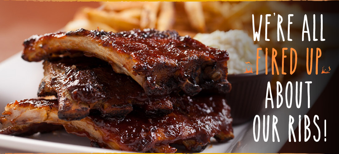 Stonewood Ale House famous ribs